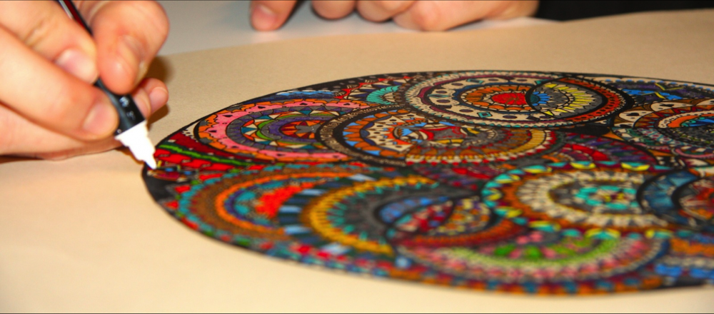 Mandala Çizim Teknikleri...