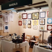 Naturel Festivali Mandala Standı